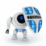 image of security robot